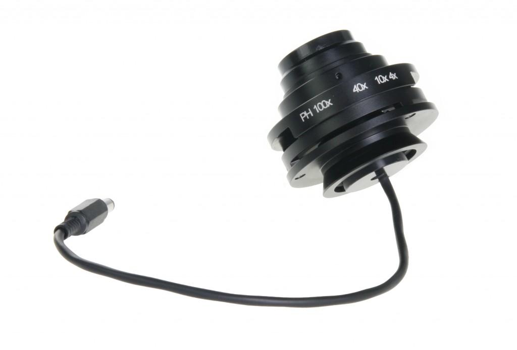 Oxion Kardioid Dunkelfeldkondensor mit LED